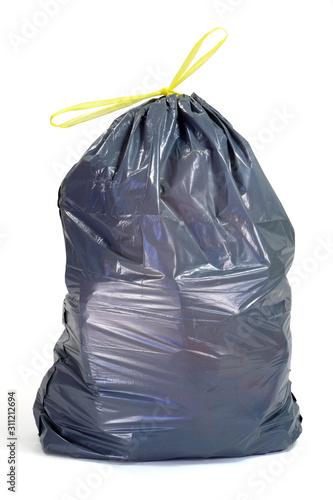 Fototapety, obrazy: garbage bag isolated on white background