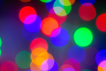 Abstract, Unfocused Image With...