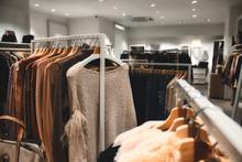 Interior Of A Clothes Departme...