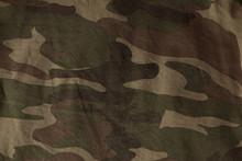 Closeup Of Military Uniform Su...