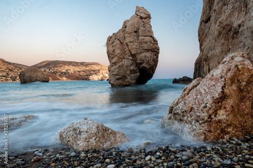Photo Aphrodite's stones in Cyprus