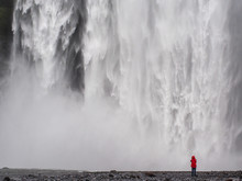 Skogafoss Waterfall And Photog...