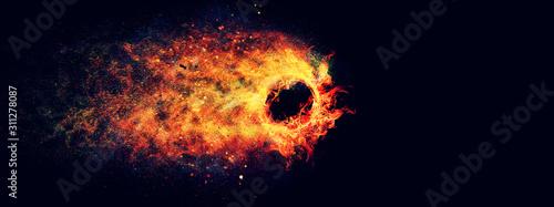 Fotografija  流動的な火の輪