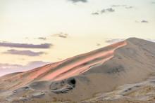 Kelso Sand Dunes At Sunset, Mojave Desert, California, USA