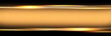 Abstract Golden Black Frame Design Innovation Concept Layout Background
