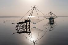 Traditional Fishing Net Gear W...