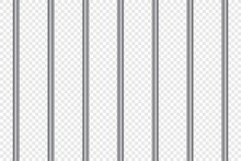 Prison Bars Realistic. Jail La...
