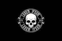 Skull Vector Logo Template