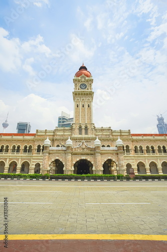 Sultan Abdul Samad building in Kuala Lumpur, Malaysia. Canvas Print