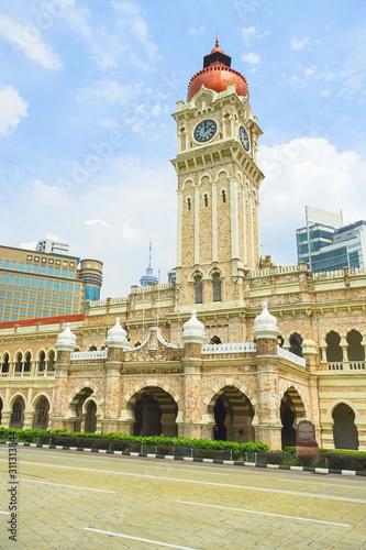 Photo Sultan Abdul Samad building in Kuala Lumpur, Malaysia.