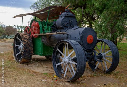 Fototapety, obrazy: John Fowler & Co - Steam Tractor