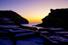 Sunset At Boscastle Plymouth C...