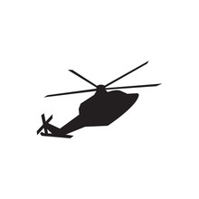 Helicopter Silhouette Drawing ...