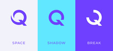 Set Of Letter Q Minimal Logo I...