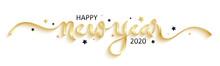 HAPPY NEW YEAR 2020 Black Brus...