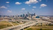 Dallas Skyline with blue sky
