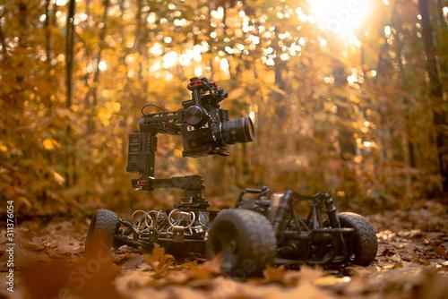 Fototapety, obrazy: Camera Car