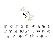 Handwritten Heart Calligraphy ...