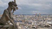 Stone Gargoyle On The Roof Of ...