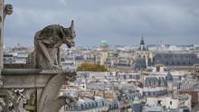 Stone Gargoyle On Roof Of The ...