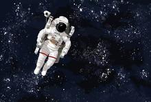 Astronaut. Bruce McCandless II...