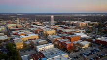 Downtown McKinney Texas During...