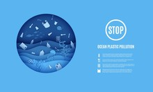 World Ocean Day, Stop Ocean Pl...