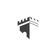 Castle Logo Template Vector Sy...