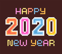 Happy New Year 2020, Bright Co...