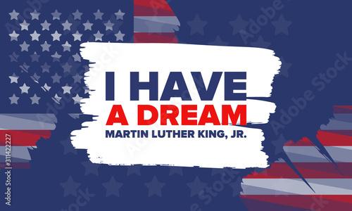 MLK day Canvas Print