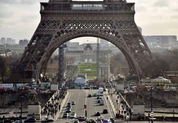 Panel Szklany Miasta Paris, France