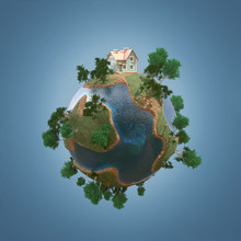 Private House On Small Planet ...