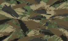 Camouflage Background, Made Of...