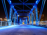 Grand Rapids Blue Bridge Downtown