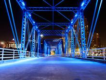 Grand Rapids Blue Bridge Downt...