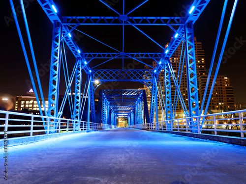Grand Rapids Blue Bridge Downtown - 311455891