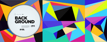 Colorful Abstract Banner Templ...
