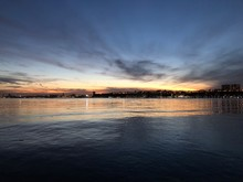 Beautiful Sunset On The Upper ...