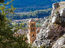 The Village Of Moustiers-Saint...