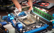 Engineers Are Placing The CPU ...