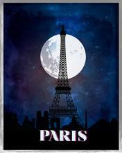 Paris Vintage Poster Travel