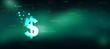 2d rendering usd Dollar symbol
