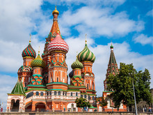 Moskow Onion Chapel Tower In C...