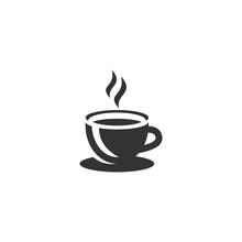 Cup Of Coffee Mug Icon Templat...
