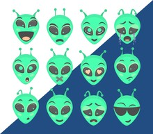 Alien Head - Set
