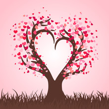 Heart Tree On The Day Of Love....