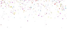 Multicolor Confetti Abstract B...