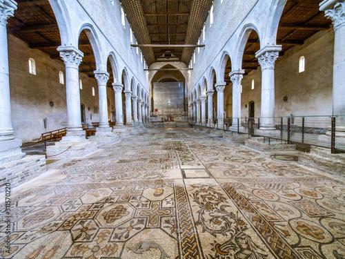 UNESCO Weltkulturerbe, Aquileia Basilika, Italien, Friaul, Julis Fototapet