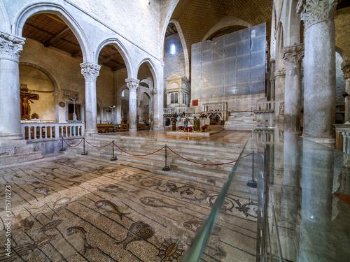 UNESCO Weltkulturerbe, Aquileia Basilika, Italien, Friaul, Julis Canvas Print