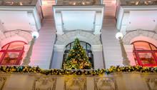Christmas Tree On The Facade O...